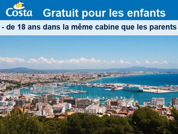 Italie, Baléares, Espagne - Vacances d'Avril