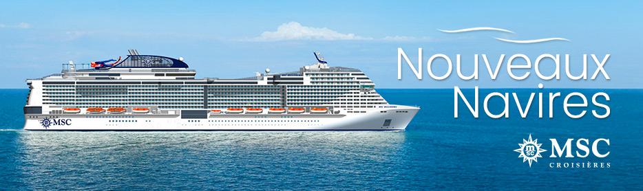 MSC Nouveaux navires