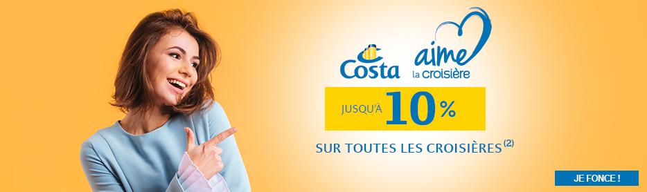 Costa aime la croisière