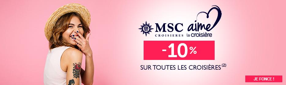 MSC Aime la croisière